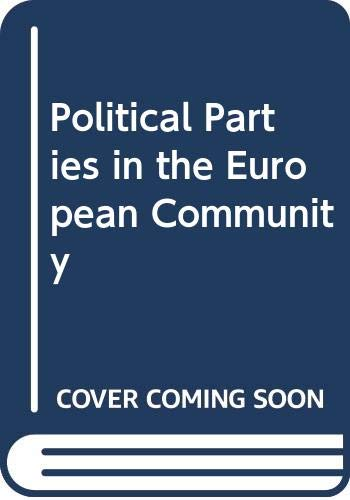 9780043290255: Political Parties in the European Community