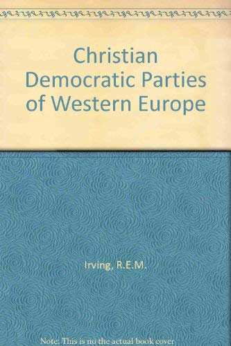 9780043290316: Christian Democratic Parties of Western Europe