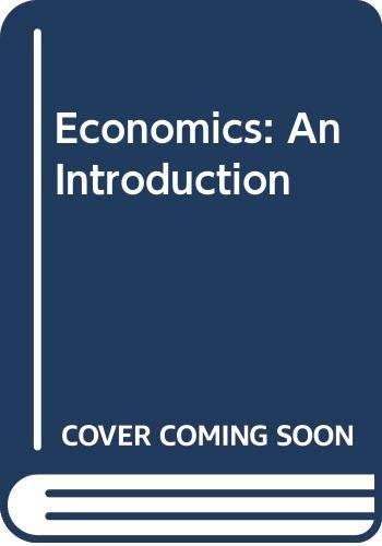 9780043300084: Economics: An Introduction