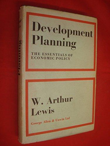 9780043300480: Development Planning