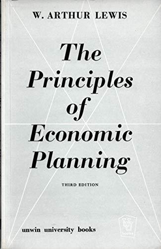 9780043300527: Principles of Economic Planning (Unwin University Books)