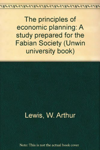 9780043301371: The principles of economic planning: A study prepared for the Fabian Society (Unwin university books, 11)
