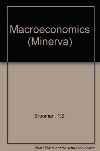 Macro Economics: Brooman, F S