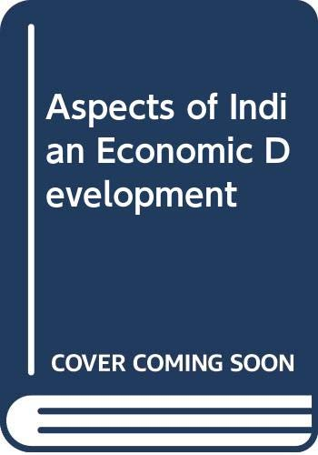 9780043301883: Aspects of Indian Economic Development