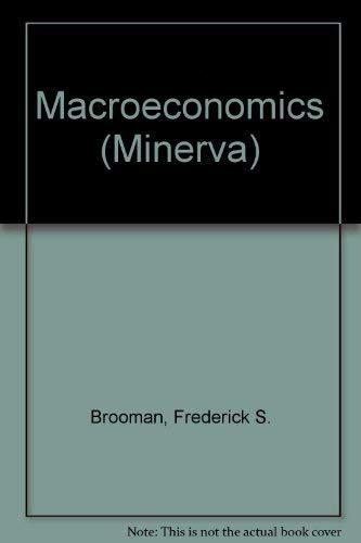 9780043302828: Macroeconomics (Minerva)