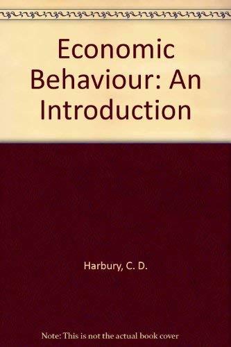 9780043303061: Economic Behaviour: An Introduction