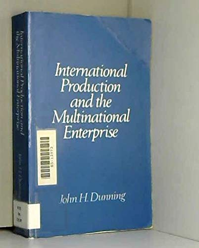 9780043303207: International Production and the Multinational Enterprise