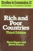 9780043303214: Rich and Poor Countries: Consequences of International Disorder (Studies in economics)