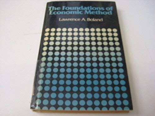 9780043303283: The Foundations of Economic Method