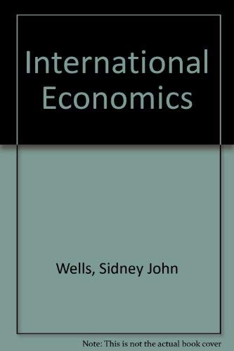 9780043303498: International Economics