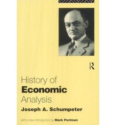 9780043303764: History of Economic Analysis