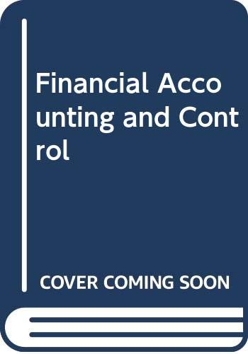9780043320297: Financial Accounting and Control
