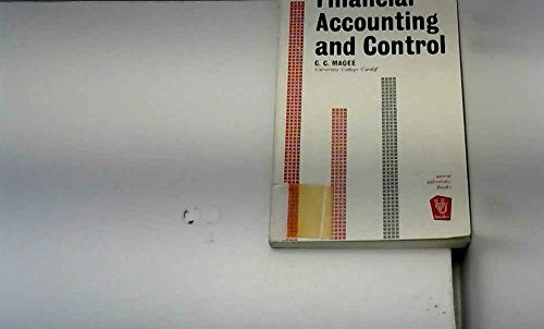 9780043320303: Financial Accounting and Control (Unwin University Books)