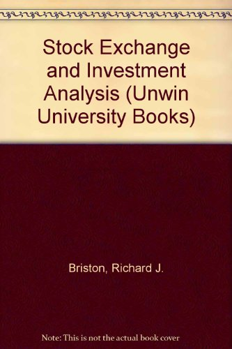 9780043320402: Stock Exchange and Investment Analysis