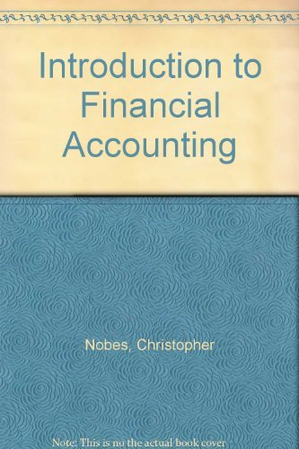 9780043320716: Introduction to Financial Accounting