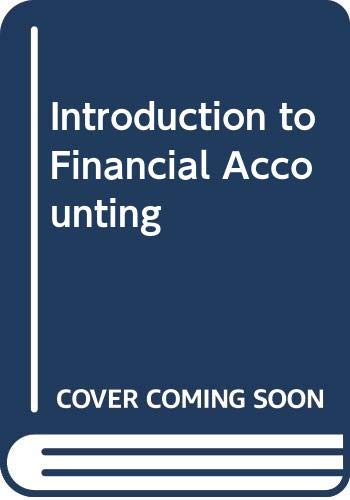 9780043320723: Introduction to Financial Accounting