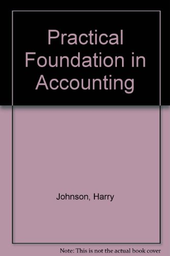 9780043320822: Practical Foundation in Accounting