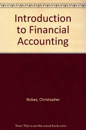 9780043320907: Introduction to Financial Accounting
