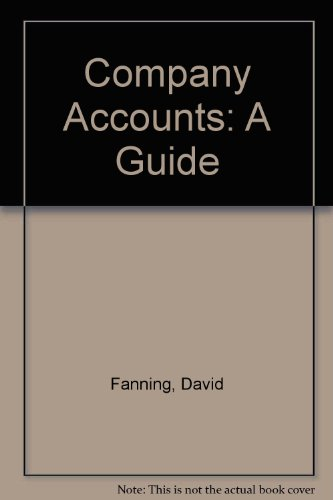 9780043320938: Company Accounts: A Guide