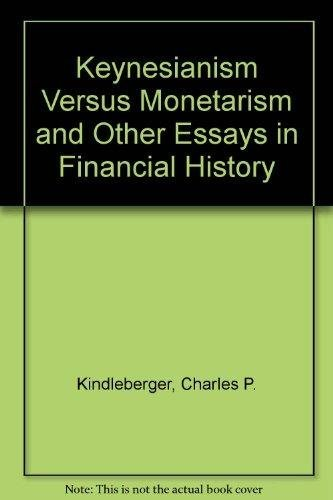 9780043321041: Keynesianism Versus Monetarism and Other Essays in Financial History