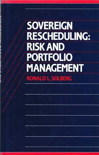 9780043321225: Sovereign Rescheduling: Risk and Portfolio Management