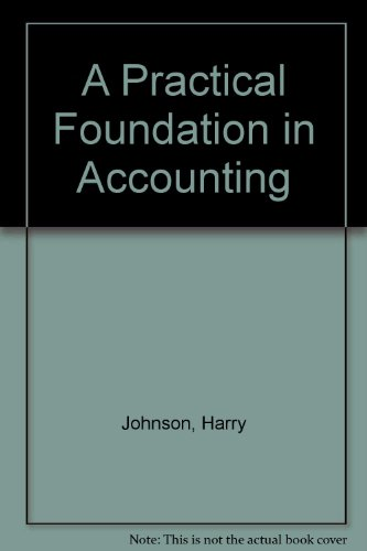 9780043321249: A Practical Foundation in Accounting