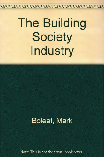 9780043321256: The Building Society Industry