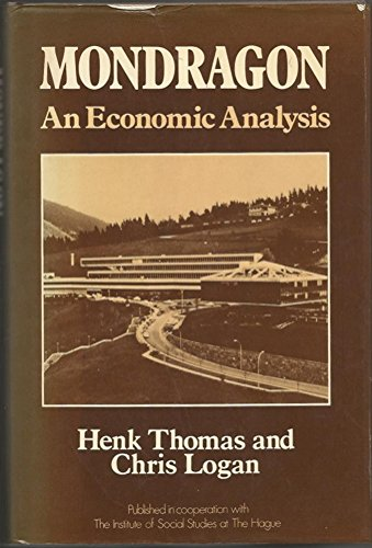 9780043340066: Mondragon: An Economic Analysis