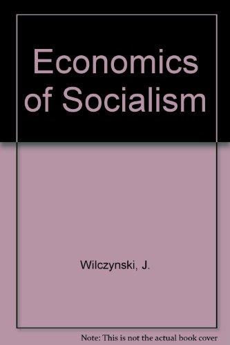 9780043350294: Economics of Socialism