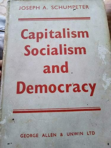 9780043350317: Capitalism, Socialism and Democracy
