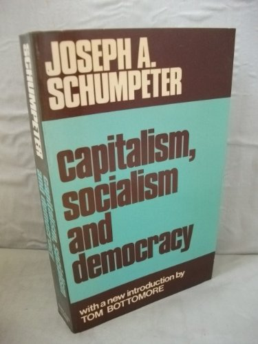 9780043350324: Capitalism, Socialism and Democracy