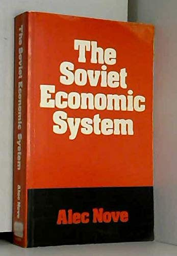 9780043350362: Soviet Economic System