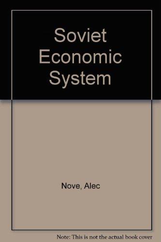 9780043350416: Soviet Economic System