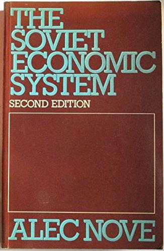 9780043350423: Soviet Economic System