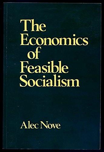 9780043350485: The Economics of Feasible Socialism