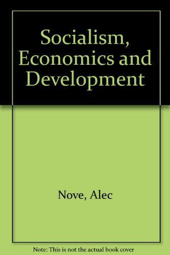 9780043350553: Socialism, Economics and Development