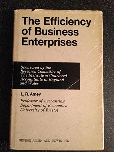 9780043380369: Efficiency of Business Enterprises