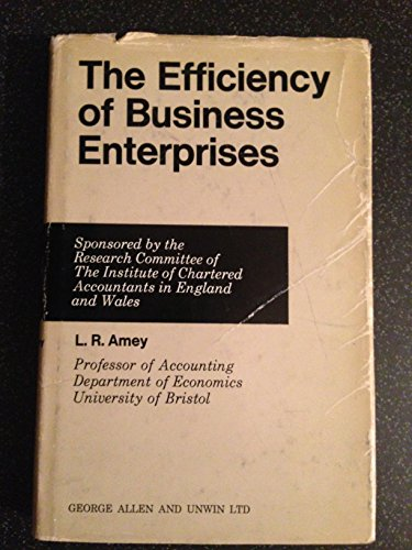 9780043380369: Efficiency of Business Enterprises