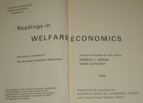 9780043380383: Readings in Welfare Economics (American Economic Association)