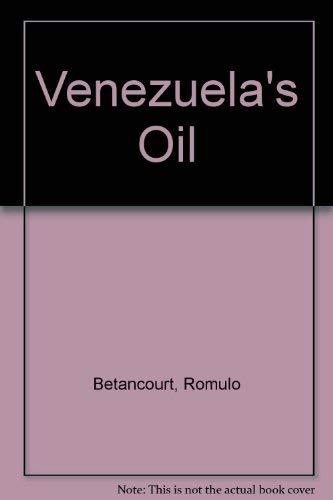 9780043380826: Venezuela's Oil