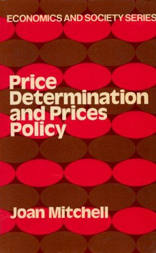 9780043380857: Price Determination and Price Policy