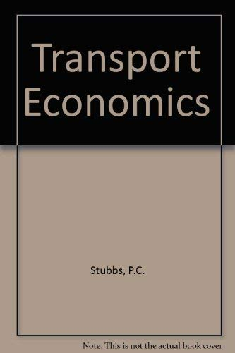 9780043380895: Transport Economics