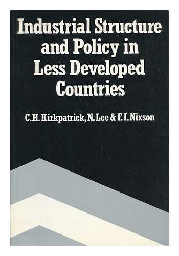 9780043381168: Industrial Structure and Policy in Less Developed Countries