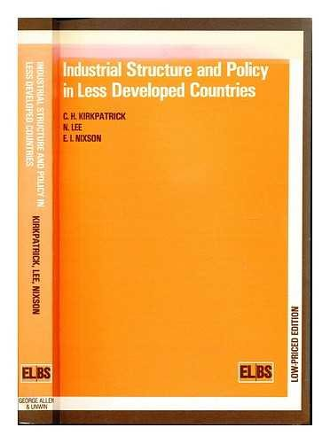 9780043381373: Industrial Structure and Policy in Less Developed Countries