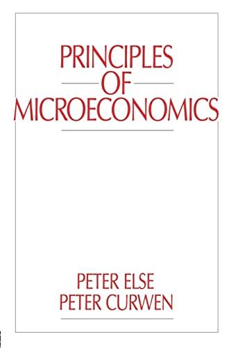 9780043381526: Principles of Microeconomics