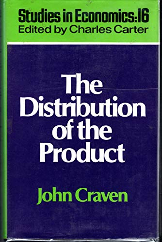 9780043390146: Distribution of the Product (Studies in economics)