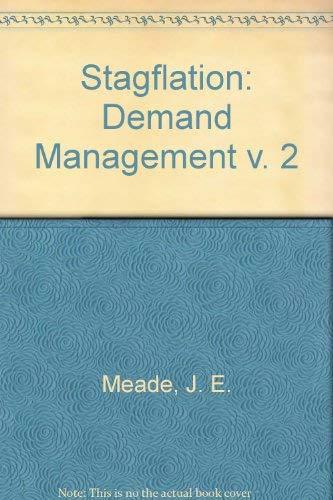Stagflation : Demand Management: David Vines; James