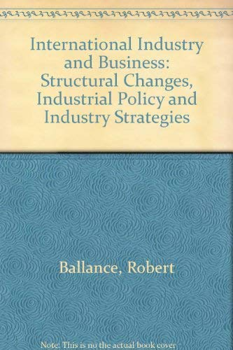 9780043390382: International Industry and Business
