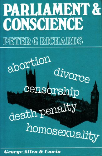 9780043400067: Parliament and conscience,