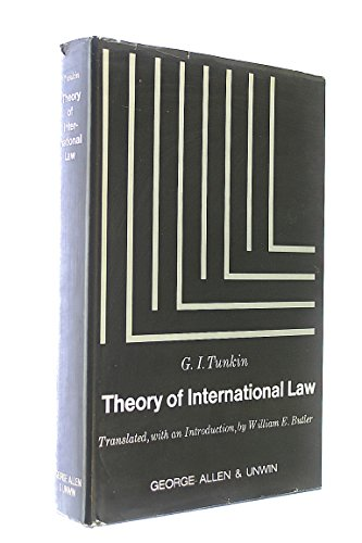 9780043410127: Theory of International Law